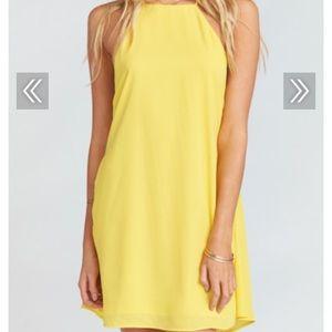 NWT Show Me Your Mumu Byron Dress~Sunshine Crisp L
